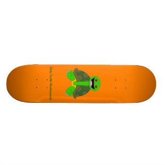 Logo Deck, Orange Skateboard Deck