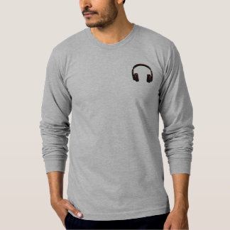 logo dj headphone T-Shirt