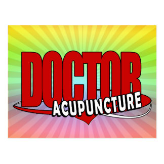 LOGO DOCTOR ACUPUNCTURE POST CARD