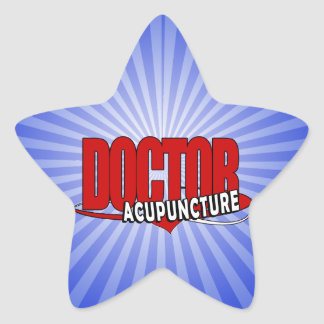 LOGO DOCTOR ACUPUNCTURE STAR STICKERS