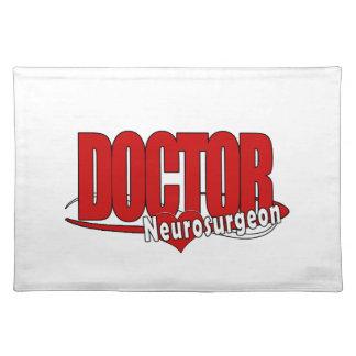 LOGO DOCTOR BIG RED  Neurosurgeon Placemat