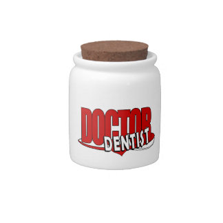 LOGO DOCTOR  DENTIST CANDY JARS
