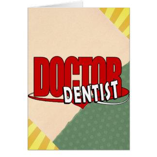 LOGO DOCTOR  DENTIST GREETING CARDS