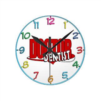 LOGO DOCTOR  DENTIST WALL CLOCKS