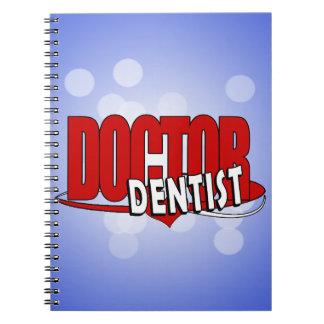 LOGO DOCTOR  DENTIST SPIRAL NOTE BOOK