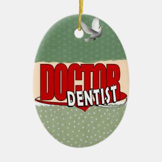 LOGO DOCTOR  DENTIST CHRISTMAS ORNAMENTS