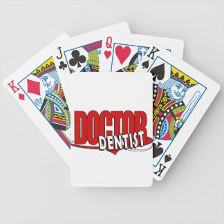 LOGO DOCTOR  DENTIST BICYCLE POKER CARDS