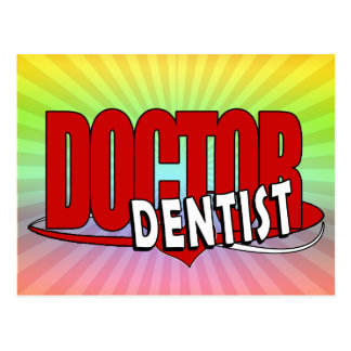 LOGO DOCTOR  DENTIST POST CARD
