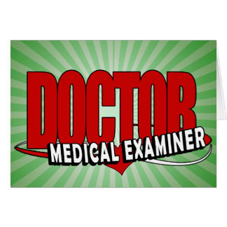 LOGO DOCTOR MEDICAL EXAMINER CARD
