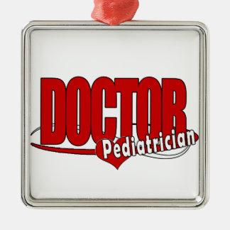 LOGO DOCTOR PEDIATRICIAN CHRISTMAS ORNAMENTS