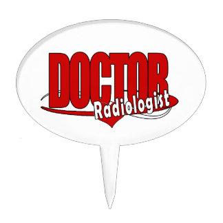 LOGO DOCTOR RADIOLOGIST CAKE TOPPER