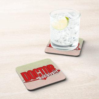 LOGO DOCTOR RADIOLOGIST DRINK COASTERS