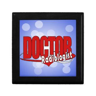 LOGO DOCTOR RADIOLOGIST TRINKET BOX