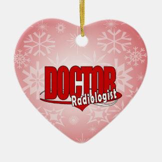 LOGO DOCTOR RADIOLOGIST ORNAMENT