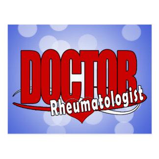 LOGO DOCTOR Rheumatologist Postcard