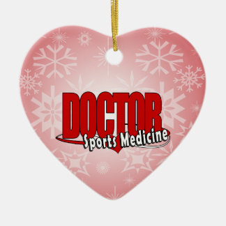LOGO DOCTOR SPORTS MEDICINE CERAMIC ORNAMENT