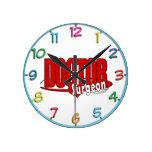 LOGO DOCTOR SURGEON WALL CLOCKS