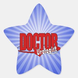 LOGO DOCTOR UROLOGIST STAR STICKER
