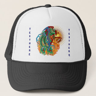 Logo Football  think it's to early view notes Trucker Hat