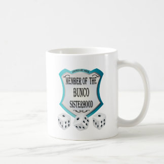 Logo For Bunco Dice Game Coffee Mug