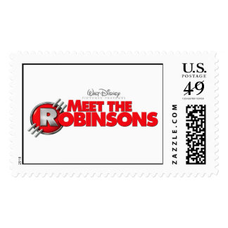 Logo from Meet The Robinsons  Disney Postage Stamp