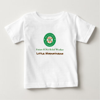 logo, Future ICNA Relief Worker, Little Humanit... Baby T-Shirt