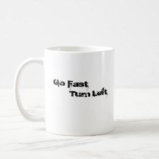 Logo, Go Fast Turn Left Coffee Mug