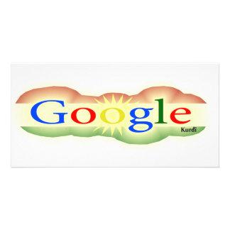 Logo Google For All Kurd Photo Card
