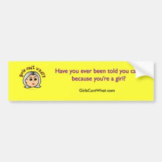 Logo Grandma - Light Bumper Sticker