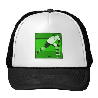 Logo - green Ice Hockey Trucker Hat