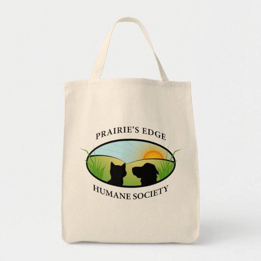 Logo Grocery Tote Bag