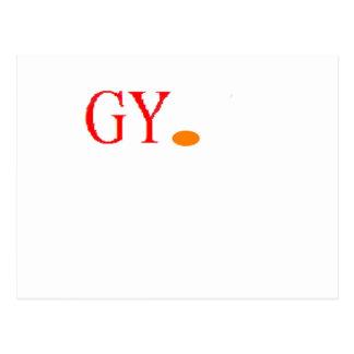 LOGO GY. POSTCARD
