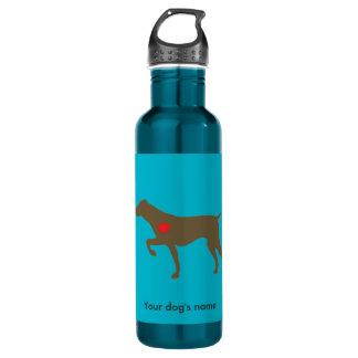 Logo Heart Water Bottle