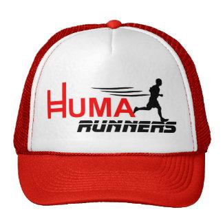 logo huma runners gorro de camionero
