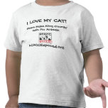 logo, I LOVE MY CAT!, KCACCExposed.org, Please ... T Shirt