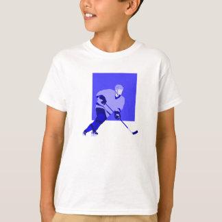 Logo Ice Hockey Blue T-Shirt