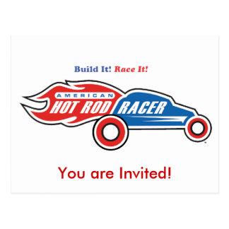 Logo Invitation Postcard