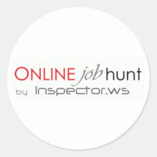 Logo-Jobs Sticker