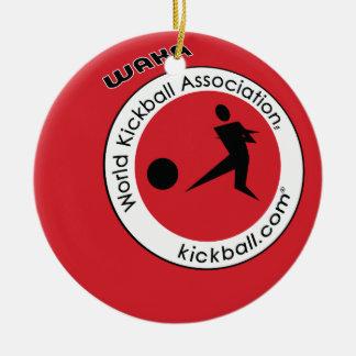 Logo Kickball Ornaments