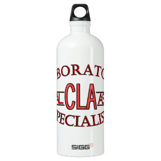 LOGO LAB CLA CLINICAL LABORATORY ASSISTANT WATER BOTTLE
