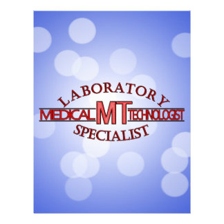 LOGO LABORATORY SPECIALIST MT MEDICAL TECHNOLOGIST LETTERHEAD TEMPLATE