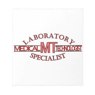 LOGO LABORATORY SPECIALIST MT MEDICAL TECHNOLOGIST MEMO NOTEPADS