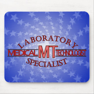 LOGO LABORATORY SPECIALIST MT MEDICAL TECHNOLOGIST MOUSE PAD
