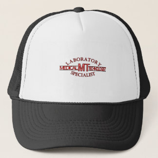 LOGO LABORATORY SPECIALIST MT MEDICAL TECHNOLOGIST TRUCKER HAT