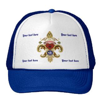 logo Louisiana Important View Notes Below Trucker Hat