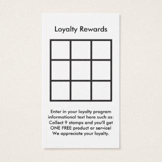 logo loyalty rewards card
