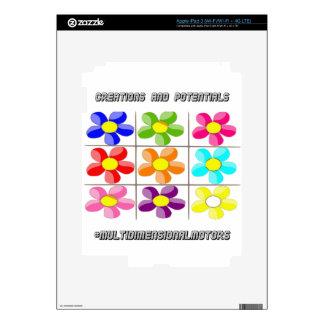 logo MDM iPad3 skin iPad 3 Decals