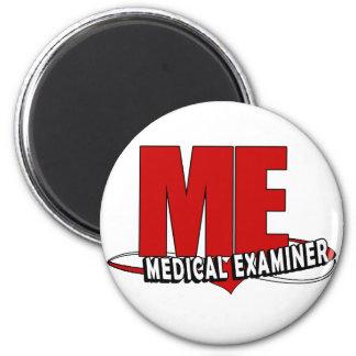 LOGO ME ACRONYM MEDICAL EXAMINER 2 INCH ROUND MAGNET
