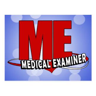 LOGO ME ACRONYM MEDICAL EXAMINER POSTCARD