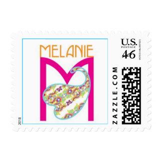 logo melanie stamp